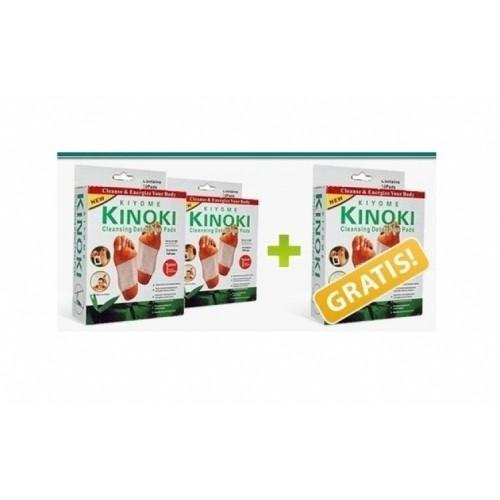 PROMO 2+1 GRATUIT! Plasturi pentru detoxifiere Kinoki