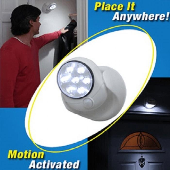Lampa 7 Leduri Cu Senzor De Miscare Fara Fir Light Angel