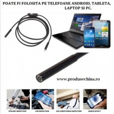 Camera endoscopica Android foto/ video waterproof 10m