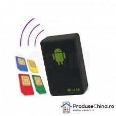 Dispozitiv de urmarire-ascultare cu GPS si SIM