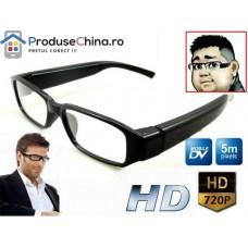 Ochelari cu camera spion 720P HD nedetectabila