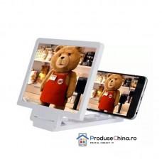 Lupa 3D portabila pentru marire display smartphone