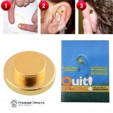 Stop Fumat - Magneti antifumat cu terapie auriculara