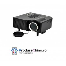 Videoproiector cu LED HD si telecomanda - cinematograf la tine acasa