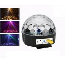 Glob disco cu Bluetooth, telecomanda si Stick USB